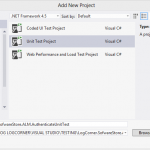 Testing Tools for Visual Studio Application Lifecycle Management