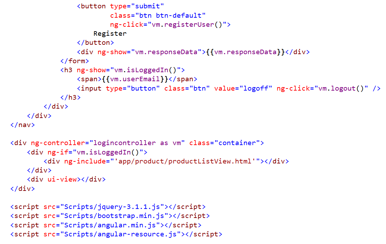 Angular JS Token-based Authentication using Asp net Identity