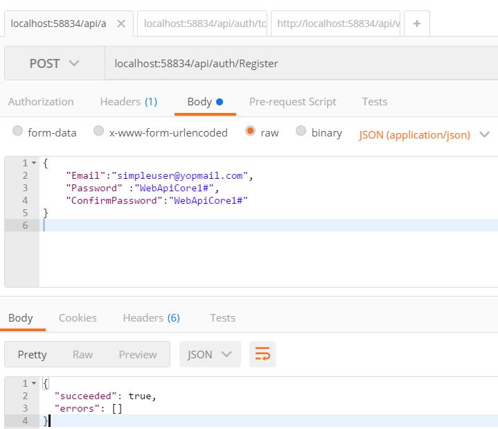 Token Based Authentication using Asp net Core Web Api | LogCorner com