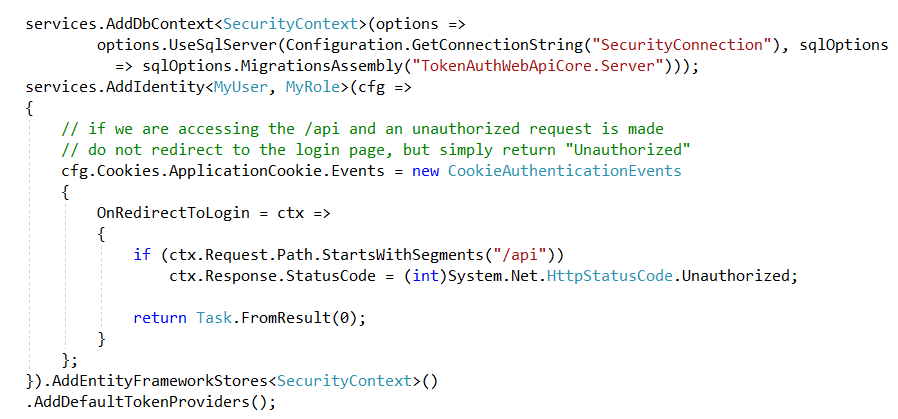 Token Based Authentication using Asp net Core Web Api | LogCorner com