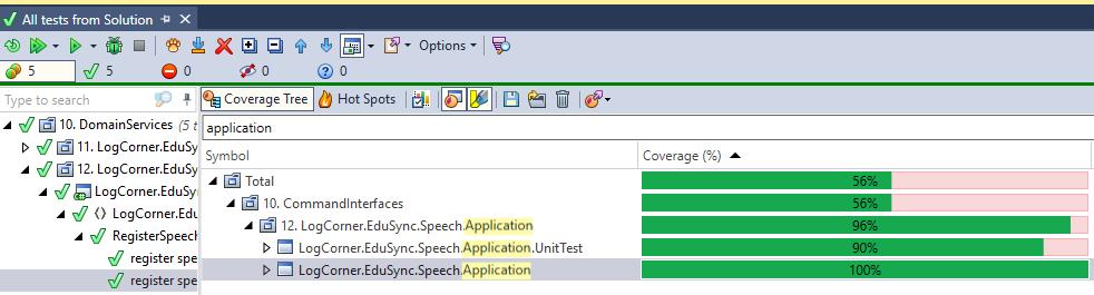 Code coverage aplication