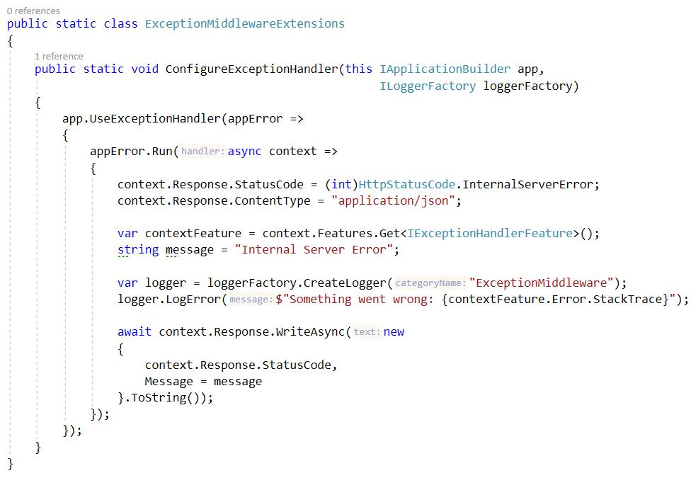 ConfigureExceptionHandler