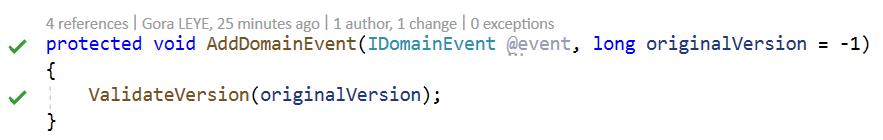 AddDomainEvent