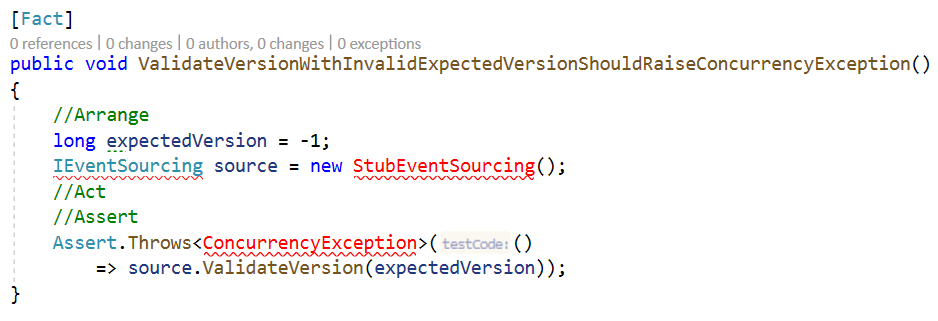 ValidateVersionWithInvalidExpectedVersionShouldRaiseConcurrencyExceptionBefore