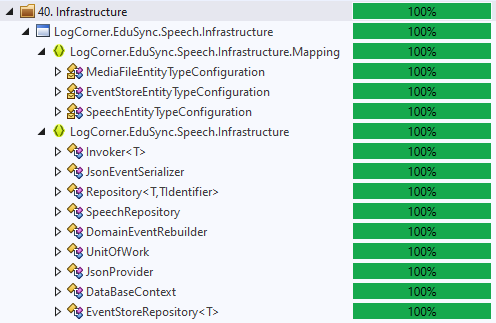 infrastructure screenshot