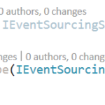 Building microservices through Event Driven Architecture part8: Implementing EventSourcing on Application